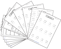 Printables Math Practice Worksheets 6th Grade sixth grade math worksheets decimal worksheets