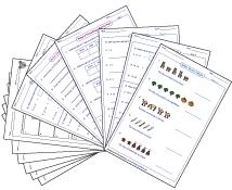Printables Math Worksheets 6th Grade sixth grade math worksheets