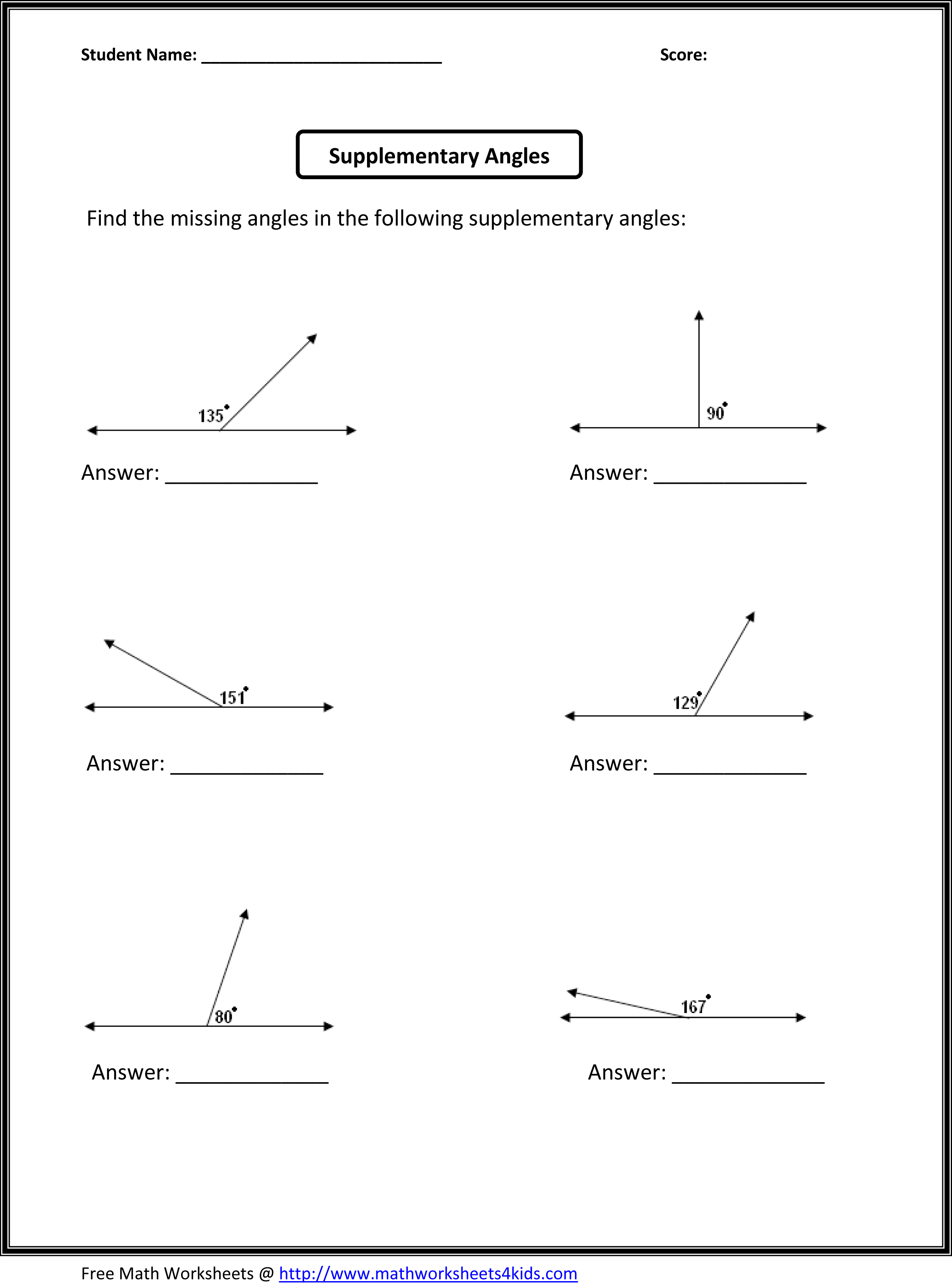 Geometry Worksheets Pdf – Maths Geometry Worksheets
