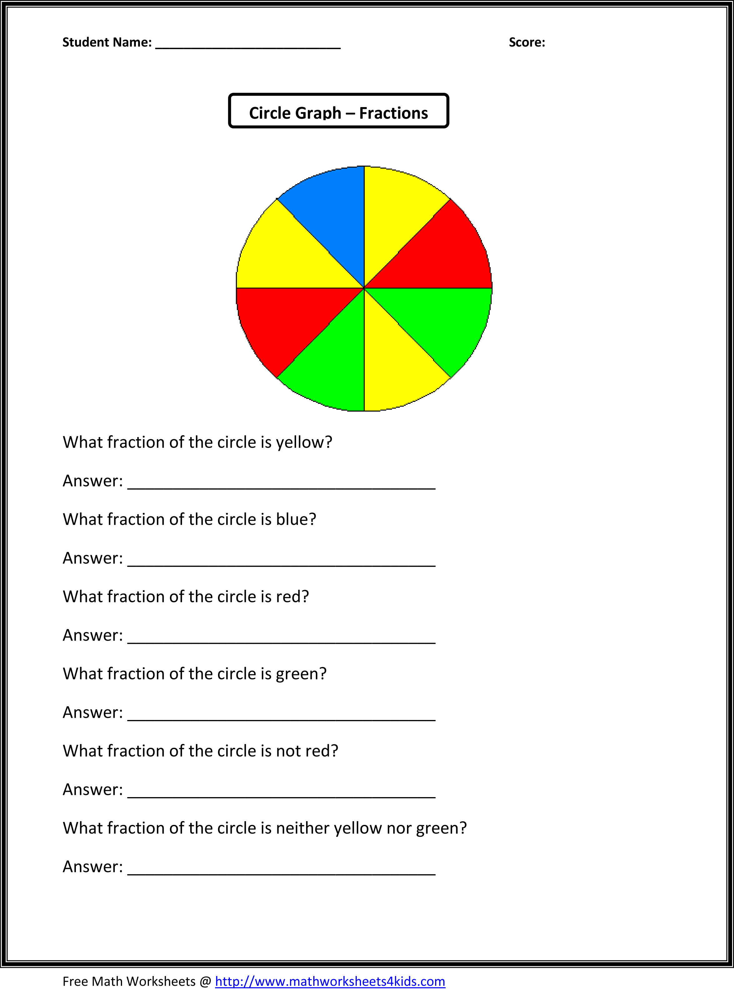 Fun 3rd Grade Math Worksheets