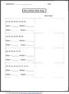 sixth grade math worksheets. Black Bedroom Furniture Sets. Home Design Ideas