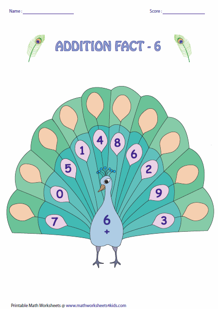 math worksheet : addition facts worksheets : 9 Addition Facts Worksheet