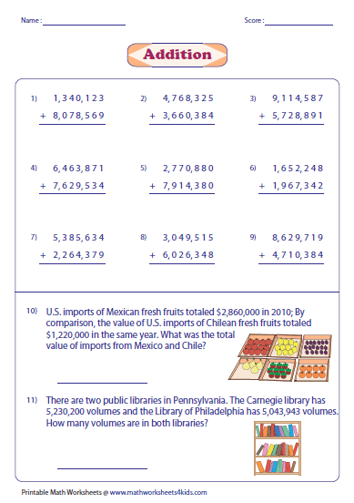 math worksheet : adding large numbers worksheets : 6 Digit Subtraction With Regrouping Worksheets
