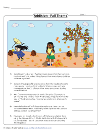 Theme based Word Problems