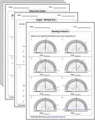 math worksheet : angles worksheets : Angle Math Worksheets
