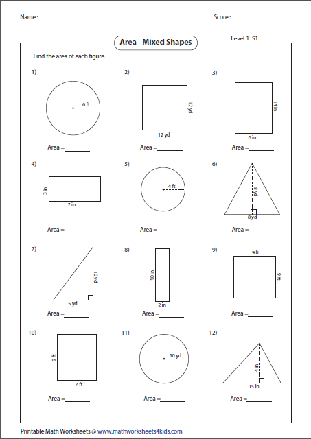math worksheet : worksheets : Finding Area And Perimeter Worksheets