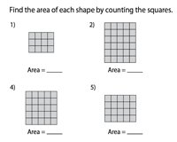 Counting squares in rectangles