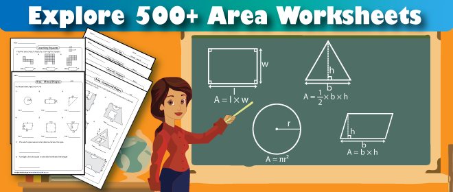 500+ Area Worksheets