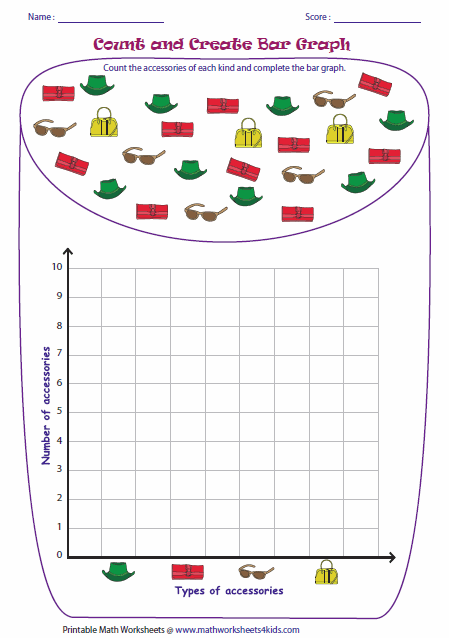 Printables Bar Graph Worksheets 2nd Grade bar graph worksheets counting objects and drawing graph