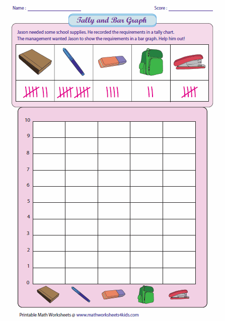 math worksheet : bar graph worksheets : Tally Worksheets For Kindergarten
