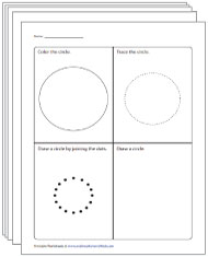 Coloring, Tracing, and Drawing Circles