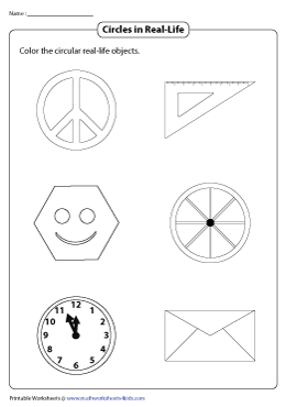 Coloring the Circular Objects