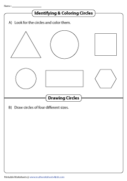 Coloring and Drawing Circles