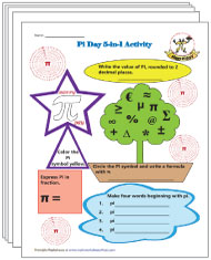 Pi Day Worksheets