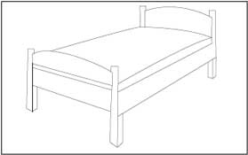 furniture coloring pages - photo#40