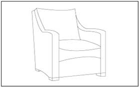 free coloring pages furniture - photo#44