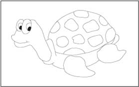 Sea Animals Coloring and Tracing