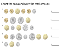 Counting Coins | Cents & Dollars