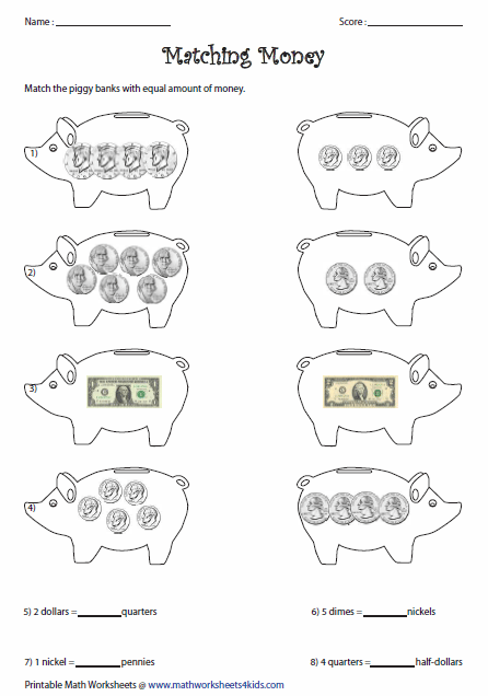 Counting Money Worksheets : free printable counting money ...