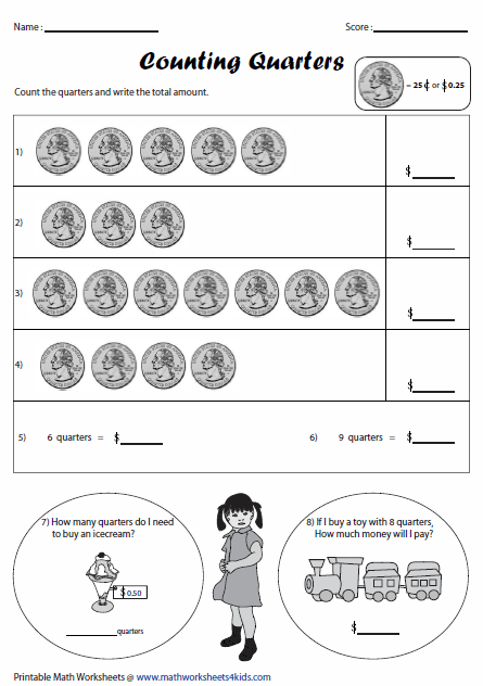 math worksheet : money worksheets : Smart Kids Math Worksheets