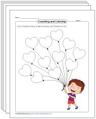 Sort and Count Worksheets