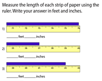 Measure and Convert Inches to Feet and Inches