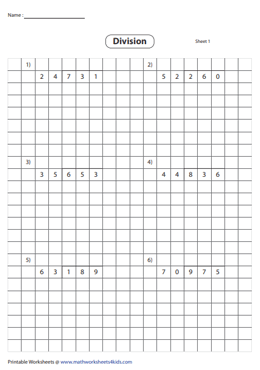 Division using Grids | 3-digit by 2-digit
