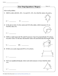 Application in geometry