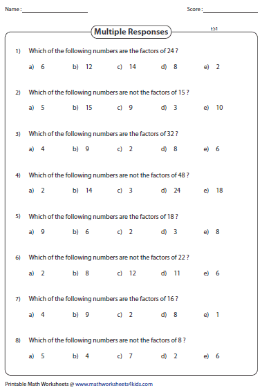 factoring large numbers