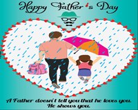 Father's Day - Greeting Card