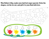Father's Day - Cut and Glue Activity