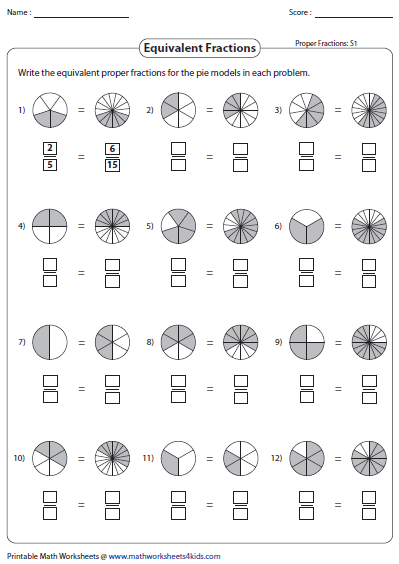 picture regarding Fraction Circles Printable called Related Portion Worksheets