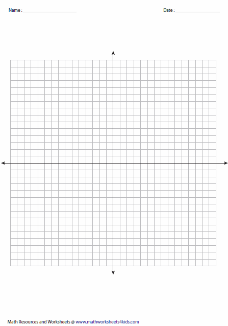 X And Y Graph Template