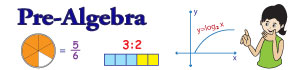See all pre-algebra worksheets