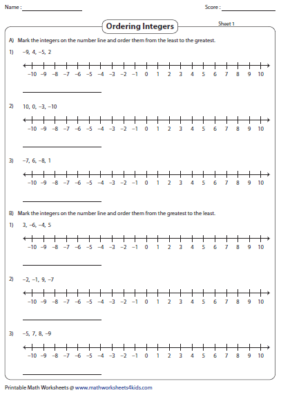 Number Line Worksheets : addition using number line worksheets ...