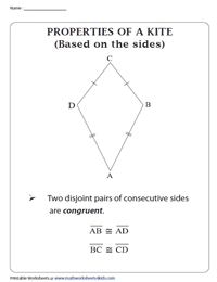Kite Worksheets