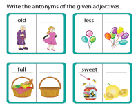 Antonyms of Adjectives