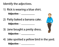Identify the Adjectives