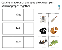 Snip and Paste Activity - Images