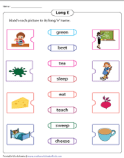 Matching Pictures to Long E Names