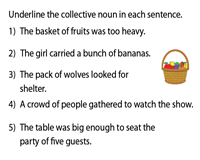 Identify the Collective Nouns