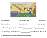 Complete the passage with Indefinite Pronouns