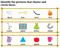 Circle the Rhyming Pictures