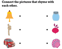 Match the Rhyming Pictures