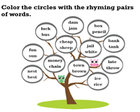 The Rhyming Tree