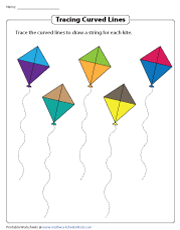 Tracing the Curves of the Kite Strings