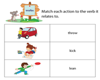 Match Pictures to Verbs
