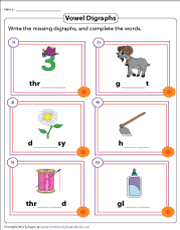 Writing the Missing Digraphs