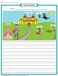 Story Writing Prompts - Grade 1