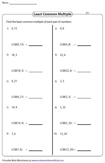 factors and multiples worksheets 6th grade prime factorization trees factors worksheets hsh. Black Bedroom Furniture Sets. Home Design Ideas